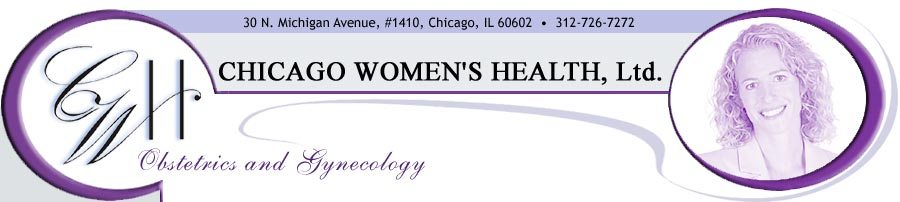 Chicago Women's Health header graphic